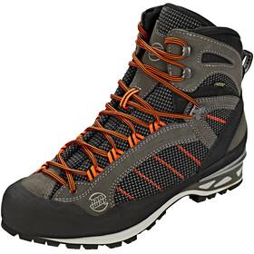 Hanwag Makra Combi GTX Shoes Men asphalt/orange